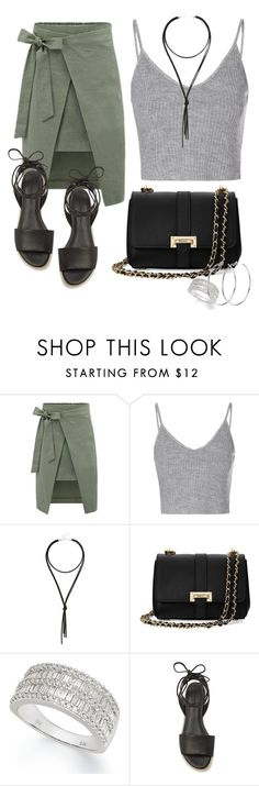 """""""Sem título #572"""" by dolcevita12 ❤ liked on Polyvore featuring Glamorous, LULUS, Aspinal of London, Effy Jewelry, Rebecca Minkoff and DKNY"""