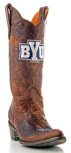 BYU Cowboy Boots...