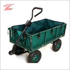 Gartenwagen / Bollerwagen / Handwagen aus Metall Modell TC-01 mit Luftbereifung – leicht, neu und günstig