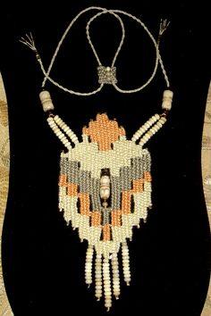 """Taking Flight"" - 2011 - Adjustable length, beads woven in, modeled after ""Subconscious Flight.""  SOLD.  Woven by Terri Scache Harris, theravenscache.shutterfly.com    Hand woven, handwoven, weaving, weave, needleweaving, pin weaving, woven necklace, fashion necklace, wearable art,fiber art."