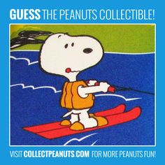 Do you know which vintage Snoopy collectible this is on? Click for the answer on CollectPeanuts.com.