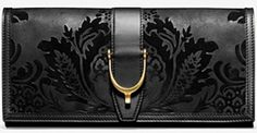Gucci Spur Detail Clutch. #dying
