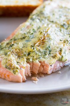 A delicious salmon dinner is less than 20 minutes away! This Amazingly Moist Salmon is just that - a moist, flavorful salmon recipe that is as easy as can be. Fish Dishes, Seafood Dishes, Fish And Seafood, Seafood Recipes, Cooking Recipes, Healthy Recipes, Main Dishes, Shellfish Recipes, Sushi Recipes