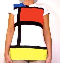 inspiration and realisation: DIY fashion blog: master in color-blocking: mondrian