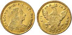 NumisBids: Nomisma Spa Auction 50, Lot 177 : PALERMO Carlo di Borbone (1734-1759) Doppia oncia 1756 sigla F - N...