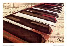 Musik (Darstellende Künste) Poster Kunst bei AllPosters.de