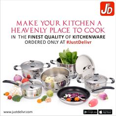 Health is Wealth. Make your kitchen more hygienic with the best Kitchenware to have. Download & Shop at: http://bit.ly/1Ijn4jM