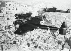 """stukablr: """" Dornier Do17 over the Acropolis of Athens, 1941 """""""
