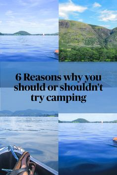 I believe camping is not for everybody. It can be difficult, uncomfortable and unsettling. But I also believe that before you decide that you don't like it, you should give it a go! It can also be so relaxing, and unique.If you are not sure if camping is for you, here you can find some reasons why you should give it a go or why you shouldn't. Believe, Hiking, Relax, Camping, Posts, Unique, Blog, Travel, Walks
