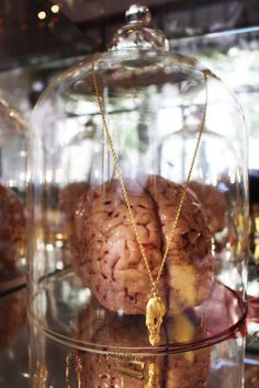 Ulrike's Brain (Bruce LaBruce) and our #unicorn #necklace @hotelultra in #Berlin.  #jonathanjohnson #jewelry
