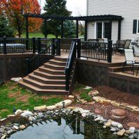 Barrett Outdoors is more than just a deck builder in NJ, they also build beautiful patios, outdoor kitchens and more.