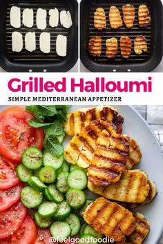 If you are looking for a delicious appetizer, look no further than this delicious grilled halloumi! Quick and easy to prep and grill, this cheese has a wonderful creamy texture with just the right amount of saltiness.