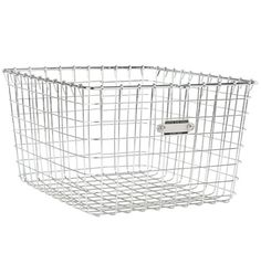 """Large Wire Gym Basket - Product Specifications Width 12""""Height 8""""Projection 13"""""""