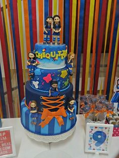 Cake at a Chiquititas Party #chiquititas #partycake