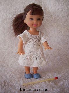 les mains calmes: Petite robe en tricot