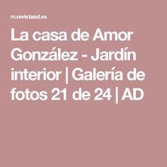 La casa de Amor González - Jardín interior | Galería de fotos 21 de 24 | AD