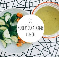 koolhydraatarme lunch Healthy Diet Recipes, Clean Recipes, Veggie Recipes, Healthy Eating, Healthy Food, Low Carb Lunch, Low Carb Diet, Foods To Eat, I Foods