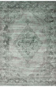Rugs USA Beaumont Vintage Aubusson Spruce Blue Rug