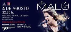 Malú en concierto en Ibiza. #Ibiza #Baleares #Eivissa #Malú
