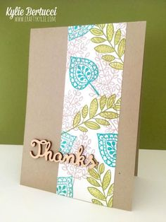 Lighthearted Leaves Sneak Peek by cards by Kylie-Jo - Cards and Paper Crafts at Splitcoaststampers