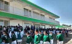 Obras - Entrega de 2a. Etapa de Escuela Primaria de San Pedro Chiautzingo - H. Ayuntamiento de Tepetlaoxtoc