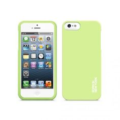 Hue Soft Grip Case for iPhone 5 - Green