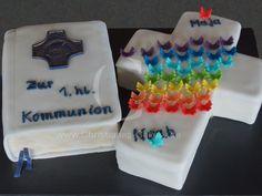 Kommunion Torte, Motivtorte,