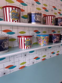 Popcorn tins for any occasion! A thank you, Mother's Day, Memorial Day, 4th of July, birthdays, weddings, and baby showers!