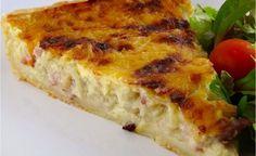 Zwiebelkuchen_Original - New Site Quiches, Onion Tart, Onion Pie, Good Food, Yummy Food, Bear Cakes, Pumpkin Dessert, Original Recipe, Pizza Recipes