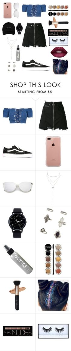 """""""Unbenannt #36"""" by durtedenise ❤ liked on Polyvore featuring County Of Milan, Vans, Belkin, Charlotte Russe, Miss Selfridge, Giorgio Armani, Huda Beauty and Lime Crime"""