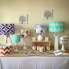Beautiful homewares for sale at Narumburn shops - 5 days only! @imadethat_design @lukacandles @tablesevenseven #lampshades #screenprinted #teatowels #tablerunner #cushions #candles #home #homedecor #homewares
