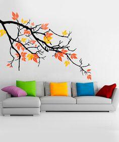 Rama Otoñal - Vinilo Adhesivo, decoración de paredes. $69.900 COP. Encuentra más vinilos adhesivos en www.giferent.com/vinilos-decorativos-adhesivos