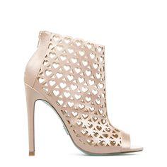 Token lasercut heels//