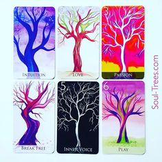 Oracle cards from soultrees.com