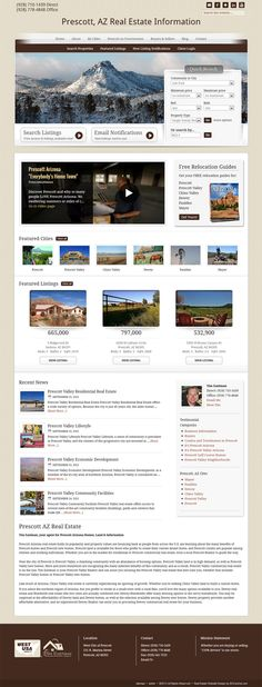 Miami Design - Real estate WordPress website includes our Neighborhoods add-on, Featured Listings add-on and IDXBroker photo gallery.