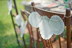 Doily-Chair-Decoration chair covers
