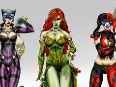 Which Gotham City siren are you? I got Poison Ivy