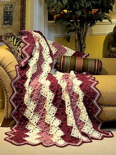 Sophisticated Zigzag Crochet Pattern - Wink Chic