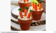 Pinterest cuisine : dips de carottes façon potager