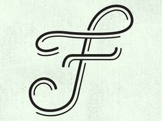 Experimenting With The Letter F