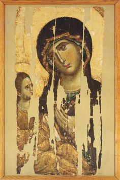 Our Lady with a Child - from Hilandar Monastery Mythology Art, Byzantine Art, Travel Art, Russian Art, Art, Byzantine Icons, Christian Art, Angel Art, Sacred Art