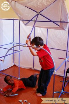 Totally Awesome Fort Magic Kit for Kids w/ sponsored giveaway worth $199!