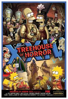 The Simpsons - Treehouse of Horror XXIV. Promotional artwork, 2013.