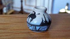 Dollhouse Miniature Southwestern Signed Pottery 1:12