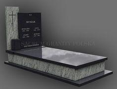 nagrobek 75 Tombstone Designs, Headstone Inscriptions, Grave Monuments, Cemetery Decorations, Marble Board, Granite Stone, Floor Design, Neon Lighting, Funeral