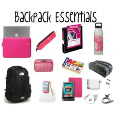 Preppy Premed: Backpack Essentials for Every College Girl Back To School Essentials, College Essentials, Planning School, What's In My Backpack, Cute School Supplies, School Backpacks, Teen Backpacks, Leather Backpacks, Leather Bags