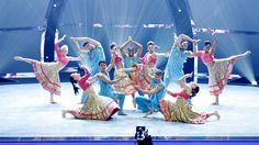 SYTYCD - The Top 12 perform a group routine choreographed by Nakul Dev Mahajan.