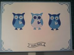 stampin up owl punch eulenstanze