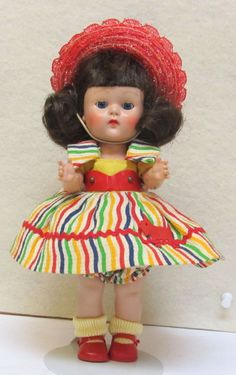 ~~OUTSTANDING l954 MY TINY MISS DOLL AND SCOTTY DOG OUTFIT - FINE!!~~~