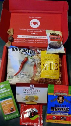 Two Chix Beauty Fix: My September 2014 Love With Food Box